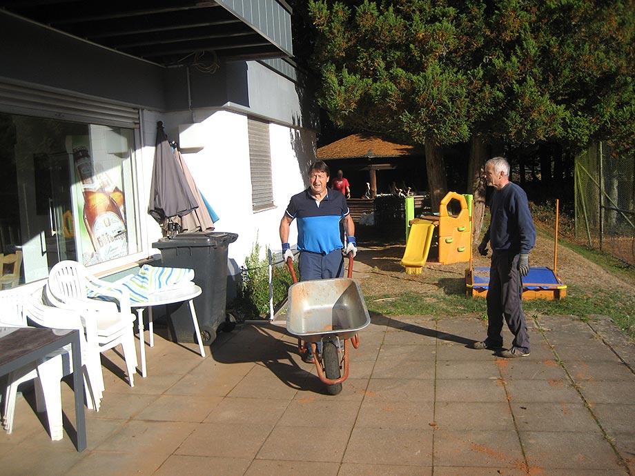 Vorbereitung der Außenanlage auf die Wintersaison I