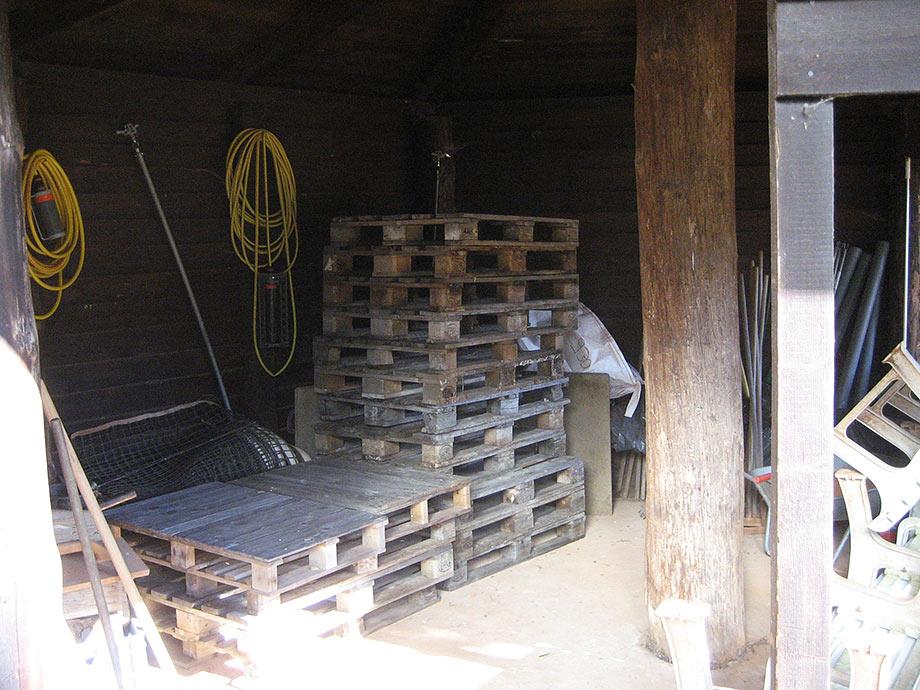 Vorbereitung der Außenanlage auf die Wintersaison V