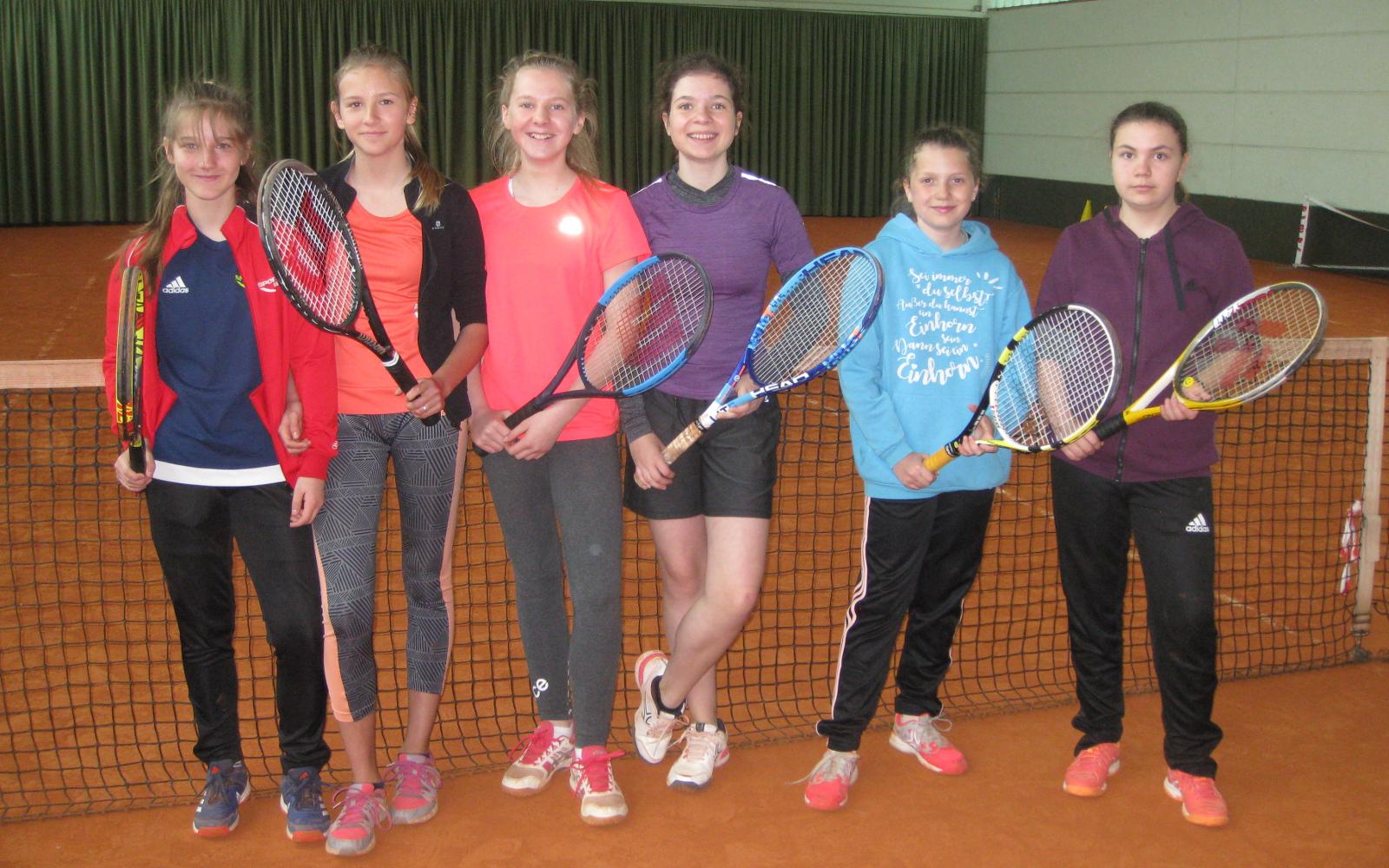 Mannschaft Juniorinnen U15/2 des TC Nunkirchen