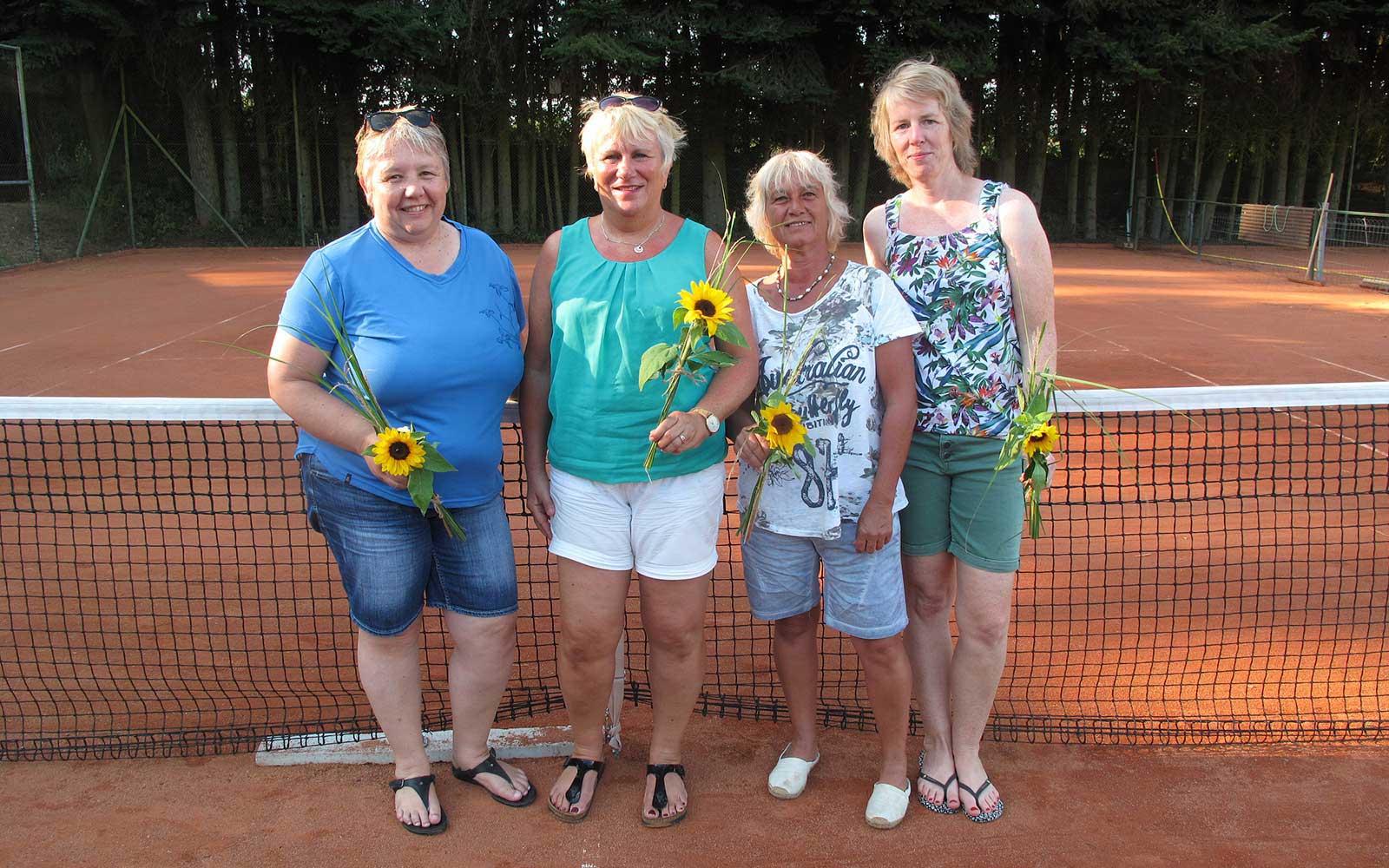 Mannschaft Damen 40 des TC Nunkirchen