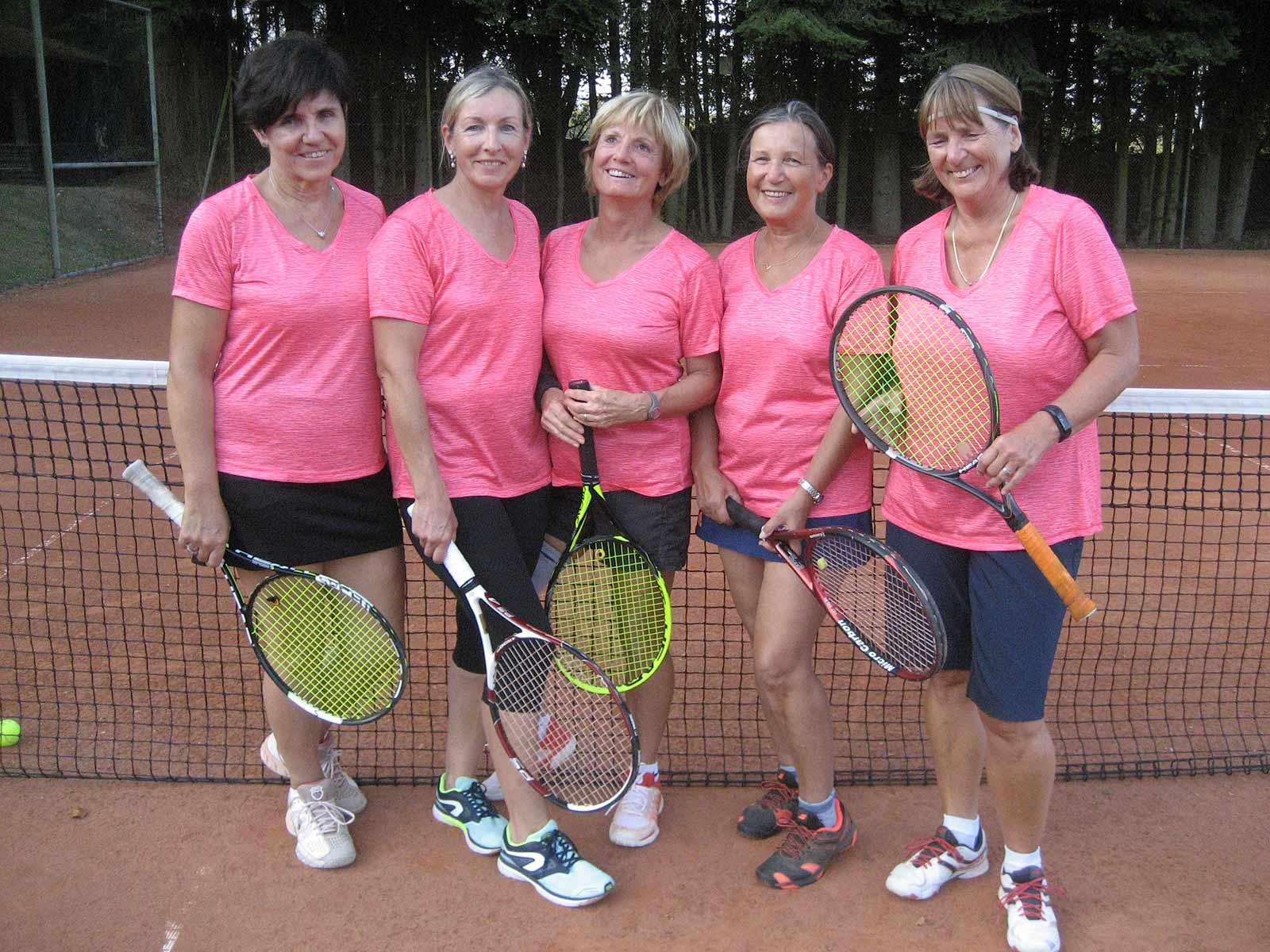 Mannschaft Damen 50 des TC Nunkirchen