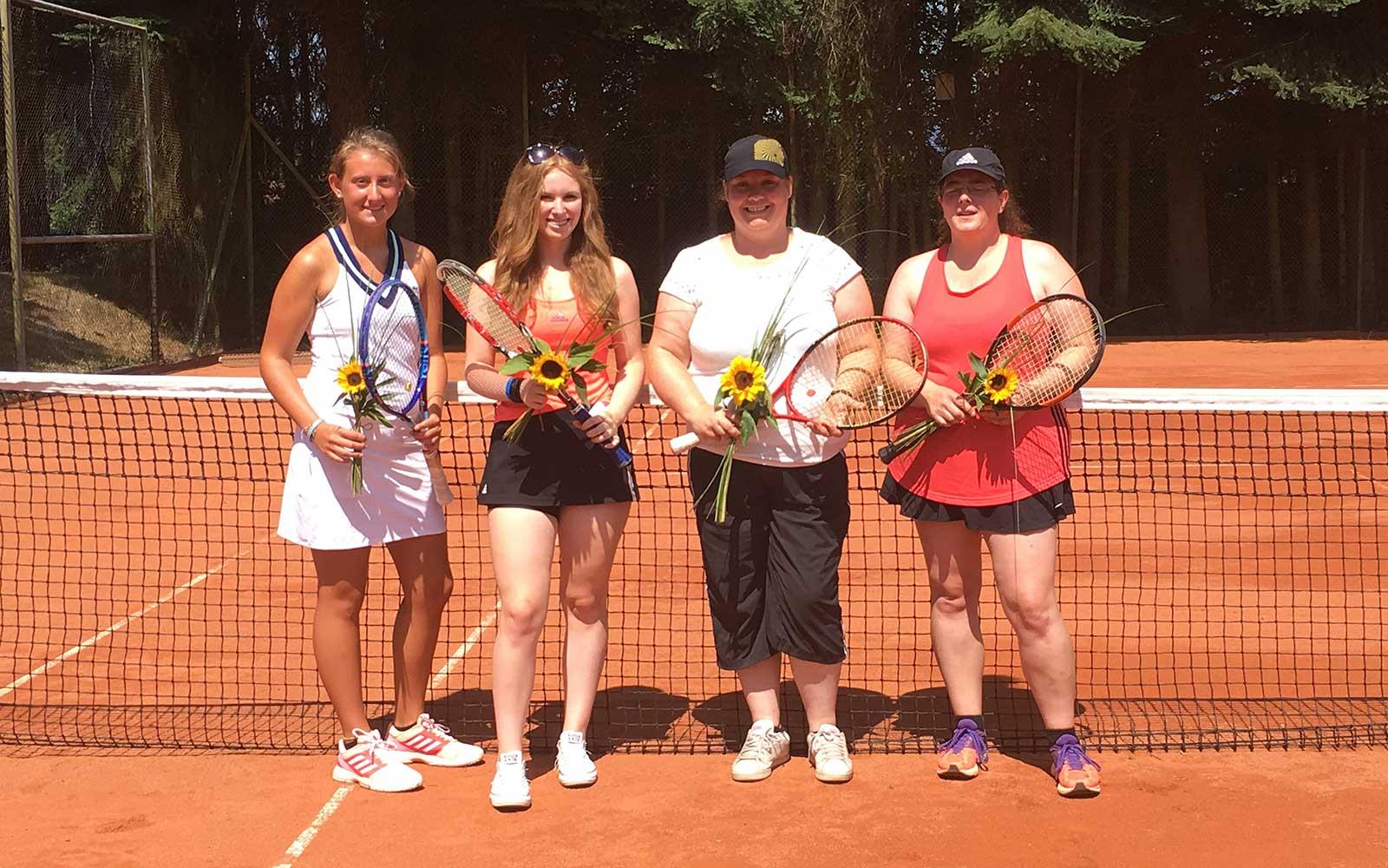Mannschaft Damen des TC Nunkirchen, Meister 2018 in der Damen B-Klasse Gr. 4 Reg. 2