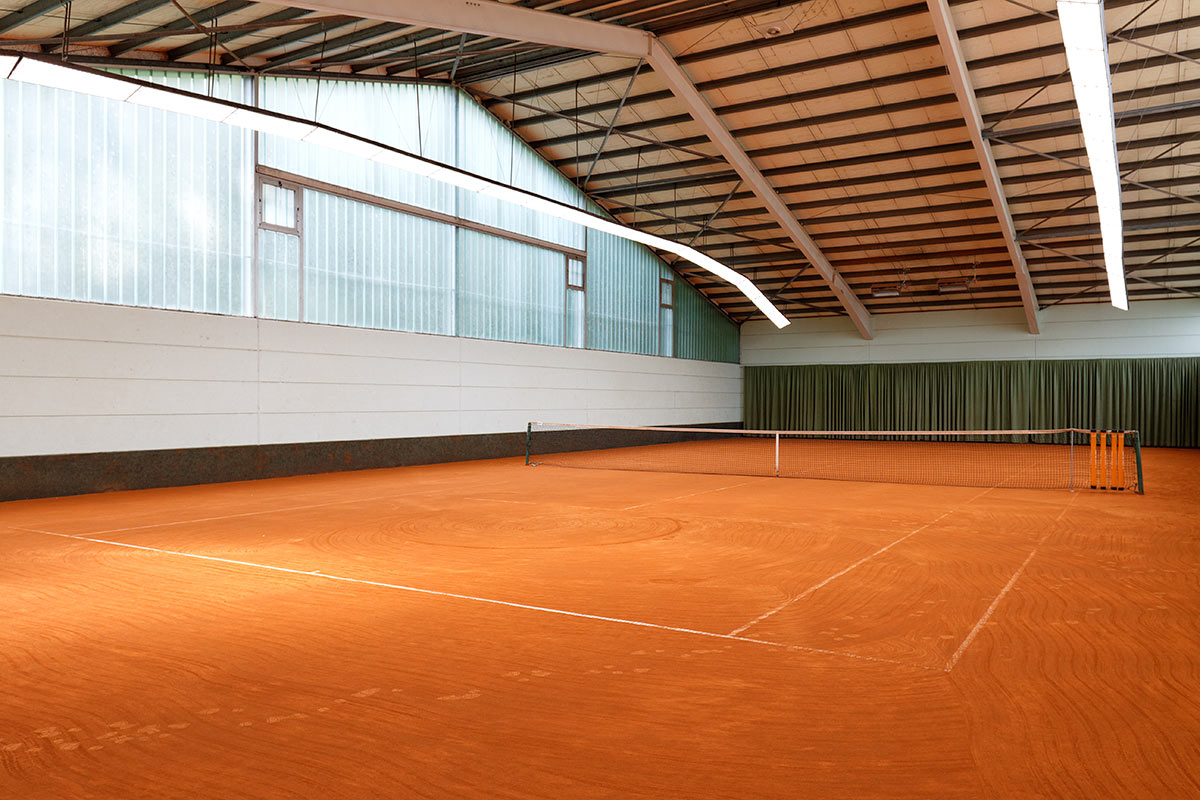 Tennishalle des TC Nunkirchen II