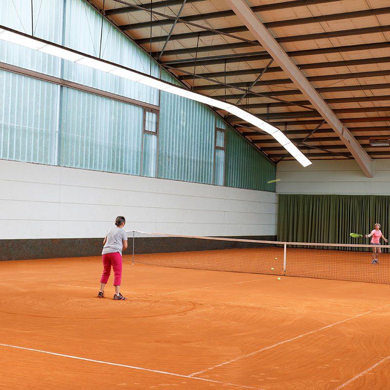 Tennishalle des TC Nunkirchen V